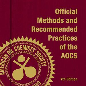 AOCS Official Method Ba 8-78