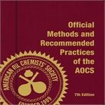 AOCS Official Method Ce 1-62  Surplus
