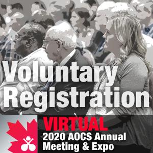 Virtual 2020 AOCS Annual Meeting & Expo Registration