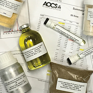 NIOP-AOCS Fats & Oils Quality Reference Material